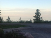 View from the New Scenic Cafe, North Shore Minnesota