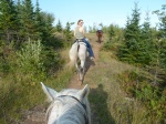 Horseback riding in Grand Marais, Minnesota