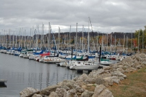 Lake City, Minnesota, harbor of Lake Pepin