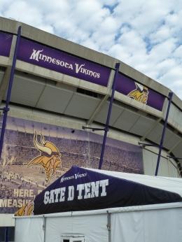 Metrodome, Vikings, Minnesota, VIP tent
