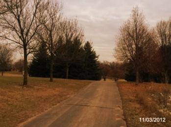 Running around town, Minnesota