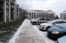 Florida friends visit Minnesota, first snow