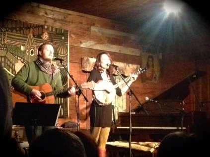 General store concert with Barbara Jean