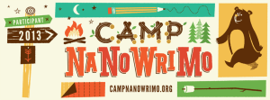 2013 Nanowrimo July Writing Challenge