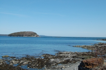 Bar Harbor Maine coast
