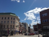 Spring in Downtown Bangor, Maine