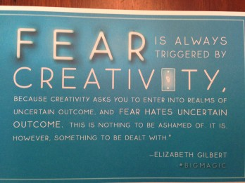 Big Magic, Elizabeth Gilbert